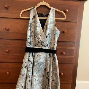 Eliza J jacquard high low dress
